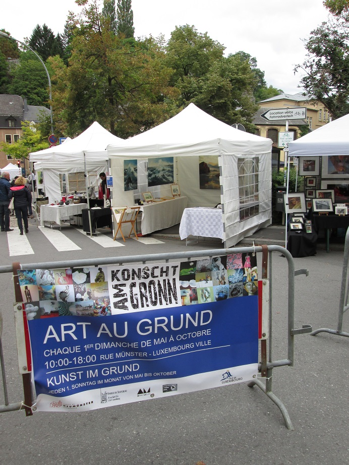 ART AU GRUND in Luxembourg.